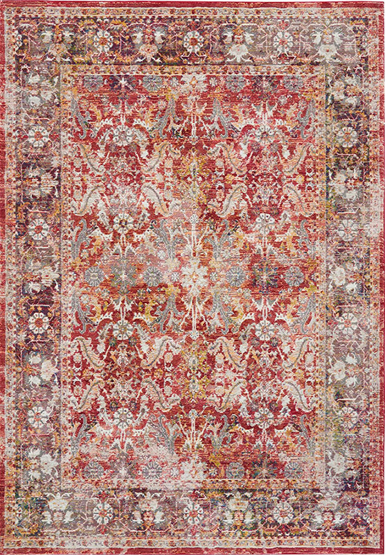 nourison ankara global red