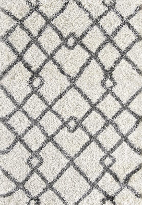 dynamic nitro lux ivory rug