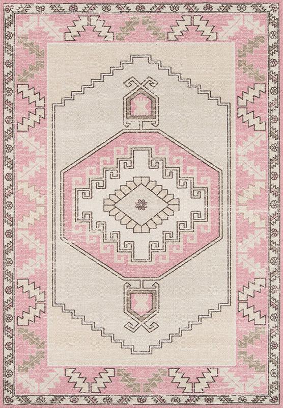 momeni anatolia pink rug