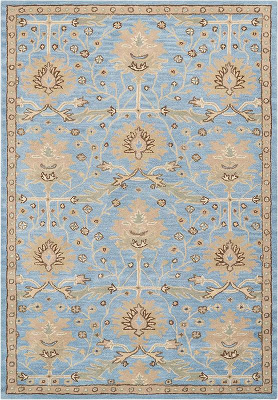 nourison jazmine blue rug