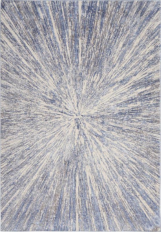nourison silky textures blue grey rug
